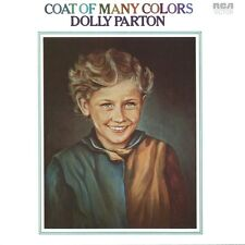 Dolly Parton - Coat Of Many Colors 180g vinyl LP NEW/SEALED Colours