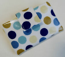Handmade iPod nano 7th & 8th gen case/cover/pouch. Spotty oil cloth fabric.