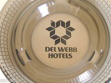 Vintage 70s Del Web Hotels Ashtray New Condition Never Used Money Back Guarantee