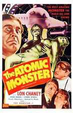 Man Made Monster Poster 02 Metal Sign A4 12x8 Aluminium