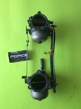 Force Mercury outboard 125hp 4cly  carb carburetors 120hp 1993 down