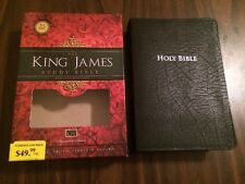 KJV Study Bible - $49.99 Retail - Black Bonded Leather - Second Edition - Nelson