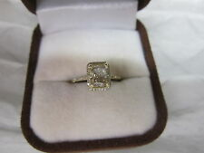 GORGEOUS 14 KT GOLD 1.51 CTW FANCY CHAMPAGNE BROWN DIAMOND RING !!!!!!!!