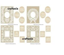 Anna Griffin® Mix & Match Christmas Frames Emboss Folders Brand New!