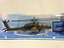 AH-64 APACHE Helicopter, 1:55 Diecast, Collectibles, By New Ray Toys
