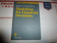 Modelling for Financial Decisions.  Edited by Spronk, Matarazzo. Springer Verlag