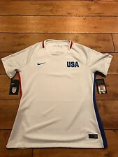 WOMENS NIKE 2016 USA AUTHENTIC DRI-FIT SOCCER JERSEY SIZE L NWT MSRP $90