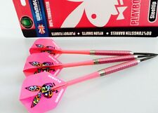 WINMAU PLAYBOY 80% TUNGSTEN DARTS with Nylon Shafts 23 or 25 gram Christmas Gift