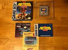 Metroid II COMPLETE IN BOX CIB Nintendo Gameboy 2
