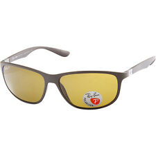 Ray-Ban Men Polarized Brown RB 4213 612483 61mm