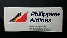1994 Philippine Airlines ticket Cebu to Davao