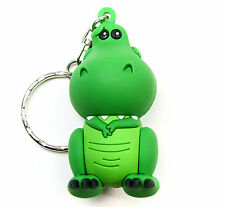 "Disney 3D Figural Keyring Series 6 REX 3"" KEYCHAIN Toy Story Opened Blind Bag"