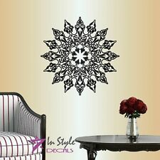 Wall Vinyl Circle Pattern Abstract Ornament Room Decor Design Wall Sticker 120