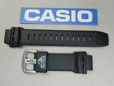 Genuine Casio Original Pro Trek PRG-250 PRG-510 PRW-2500 Rubber Watch Band Black