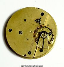 ENGLISH LEVER POCKET WATCH CENTRE SECONDS CHRONOGRAPH FOR SPARES P10