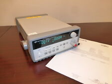 Keysight / Agilent E3644A 80W DC Bench Power Supply - 8V, 8A or 20V, 4A - CAL'D