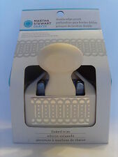 NEW MARTHA STEWART LINKED TRIM DOUBLE EDGE PUNCH FENCE DIE CUT BORDER 42-70020