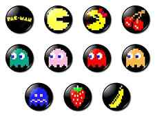 Fridge Magnet/Magneclix interchangeable Design Set - Pacman - retro gaming 8-bit