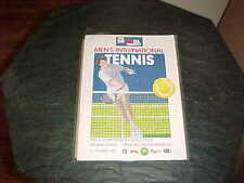 1988 The Bristol Trophy Men's International Tennis Program