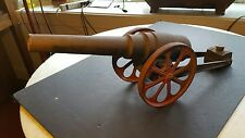 Antique Circa 1920 Big Bang Toy WWI Cannon 16-The Biggest One They Made