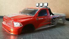 New Bright Dodge Truck HARD BODY SHELL 1:10 RC Rock Crawler SCX10 Axial D90 4WD