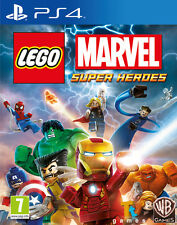 LEGO MARVEL SUPERHEROES PS4 PLAYSTATION 4 VIDEO GAME NEW SEALED OFFICIAL PAL