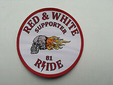 BIKER's 81 PATCH  ANGELS 666 HELLS SUPPORT 81 RSIDE  JERSEY/VEST PATCH 1%ER new