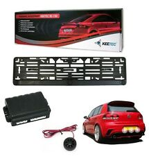 KIT RADAR DE RECUL SUR SUPPORT PLAQUE PEUGEOT 106 206 207 208 306 307 308 406