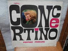 Peppino Principe CONCERTINO Oscar mondiale fisarmonica disco lp piano accordion