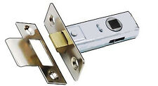 "Satin Chrome Reversible Heavy Duty Tubular Latch 63mm - 2-1/2"" SPECIAL OFFER"