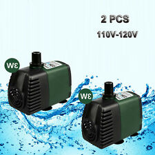 Lot of 2,119GPH Aquarium Pond Fountain Water Hydroponic Submersible Pump 110V