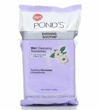 Ponds Evening Wet Cleansing Towelettes Chamomile - White Tea 30 Each (6 pack)