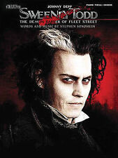 SWEENEY TODD MOVIE PIANO VOCAL SHEET MUSIC SONG BOOK NEW