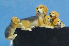Beagle hund hunde figur hundefigur computerecke  Castagna
