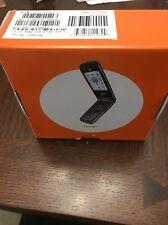 LG AT&T A380 FLIP PHONE WITH BOX LGA380 1.3MP CAMERA Bluetooth Black