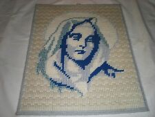 wall hanger handmade/homemade picture of blessed mary