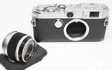 Canon L3 Leica Screw Mount Rangefinder w/ Leica 50mm F/1.8 Lens Made In Japan