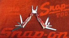 NEW SNAP ON TOOLS 13 IN 1  MULTI TOOL RED SCREWDRIVER PLIERS KNIFE