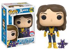 Funko Pop Marvel-X-Men-Kitty Pryde (con Lockheed) NYCC Exclusiva