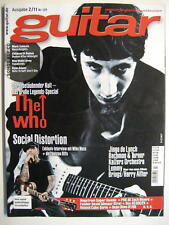GUITAR MAGAZINE 2011/2 NR. 129 - THE WHO BALCK SABBATH CHILDREN OF BODOM INCL.CD