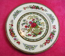 """Paragon (Tree of Kashmir - Mustard) 9 1/2"""" LUNCHEON PLATE(s) scalloped (2 avail)"""