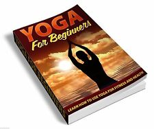Yoga For Beginners E-book PDF Free Shipping + Bonus Ebook