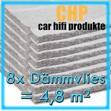 8x Dämmvlies 4,8m² selbstklebend CHP 10mm KFZ Schalldämmung PKW 8 Matten