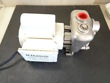 Model # 1010037  DOMETIC Pump with Stainless Steel Seawater Pump head 115/230V