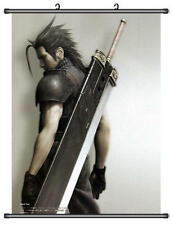 Cloud Strife Final Fantasy VII 7 Home Decor Japanese Wall poster Scroll Anime B