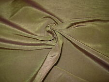 "~BTY~SILK~STROHEIM&ROMANN~""LINDSAY""BROWN ~LINEN SILK UPHOLSTERY FABRIC FOR LESS~"