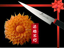"""Classic Gift Japanese Steel Fruit Carving 4"""" Knife Chef's Tool Kitchenware"""