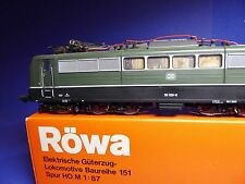 RÖWA 1421 E151 028-8 DB E-Lok mit Fehler