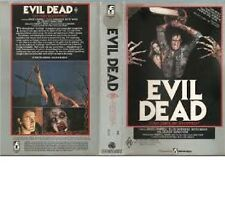 EVIL DEAD  - BRUCE CAMPBELL - VHS - Large case ex Rental - Sam Rami - filmways