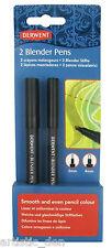 Derwent Blender Pens 2mm +4mm Pencil Blender Coloured Pencil Blender